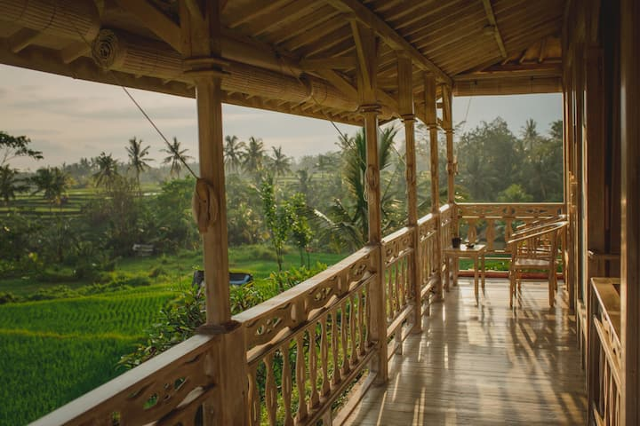 B.Saya One-bedroom Rijasa Rice Field View #Ubud