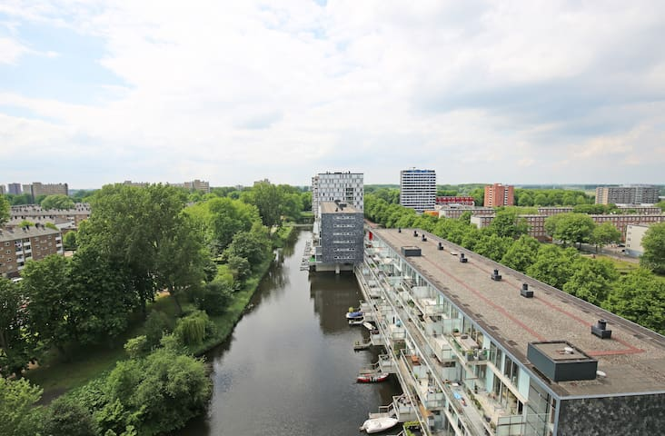 Amazing Canal Side, Sunny View Apt.Well Connected - Amsterdam - Wohnung