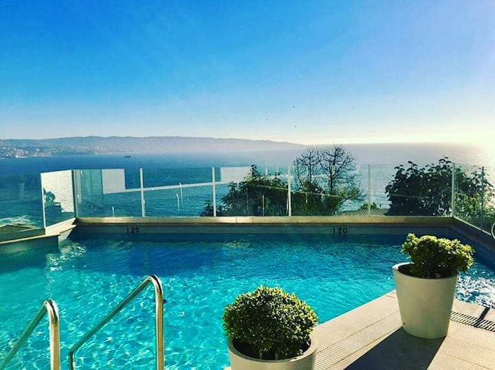 New Romantic Apartament Seaview and Best Location