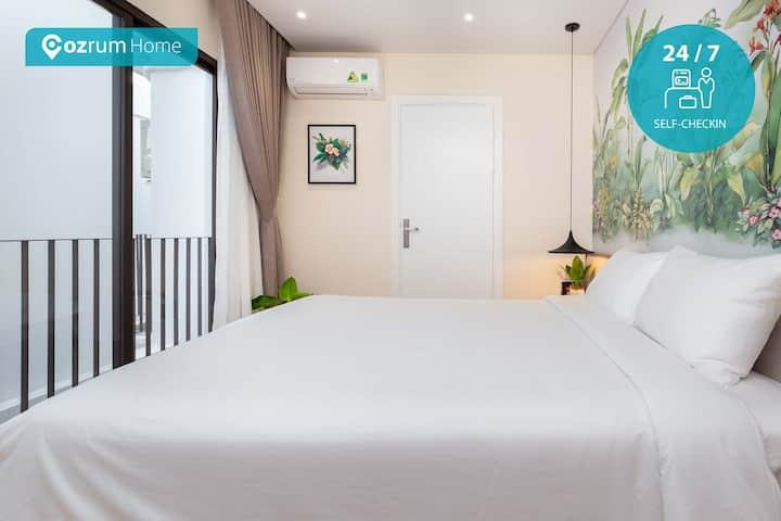 Cozrum Premier ✯1BR Modern Loft & Private Balcony