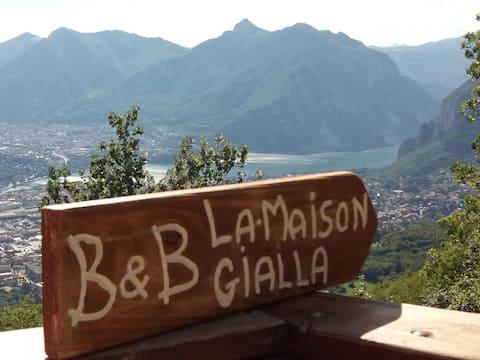 B&B La Maison Gialla _Camera Lago