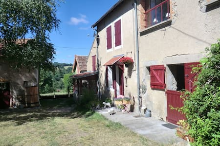 B&B in the middle of France, private shower/toilet