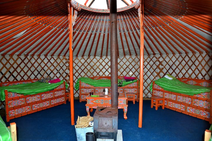 Traditional Mongolian yurt just outside Lund/Malmö - Lund NO - 蒙古包