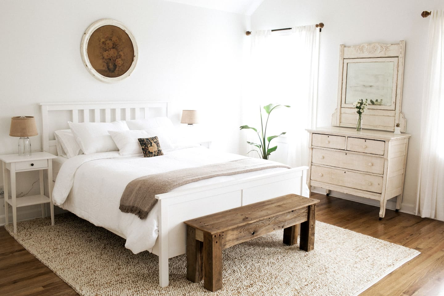 You'll never want to leave this comfy bed!