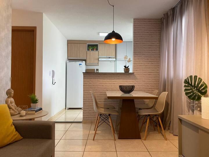Apartamento um quarto à disposição