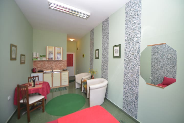 Vukotic - Studio with Balcony and sea view 1 - Kotor - Daire