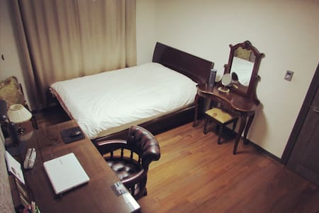 Cozy bedroom w/ private bath near the subway - Suji-gu, Yongin-si