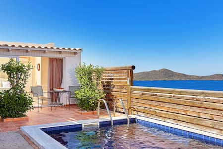 Elounda Eleon Suite with Seaview and private Pool - Elounda - Bungalow