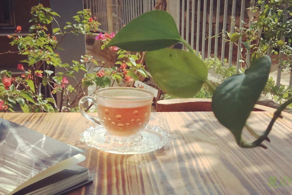 美丽的下午茶时间