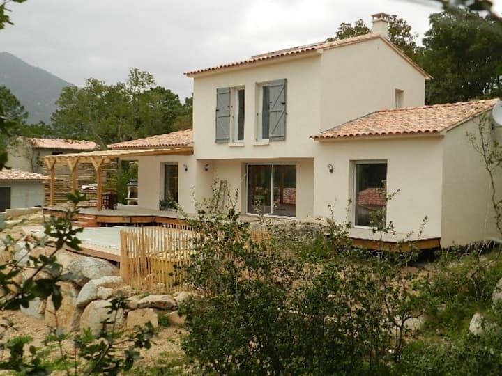 beautiful new villa near Porto Vecchio