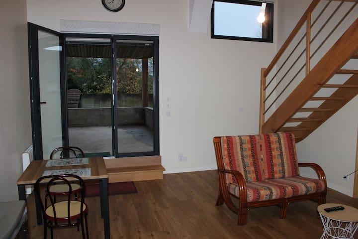 appartement/studio à la campagne