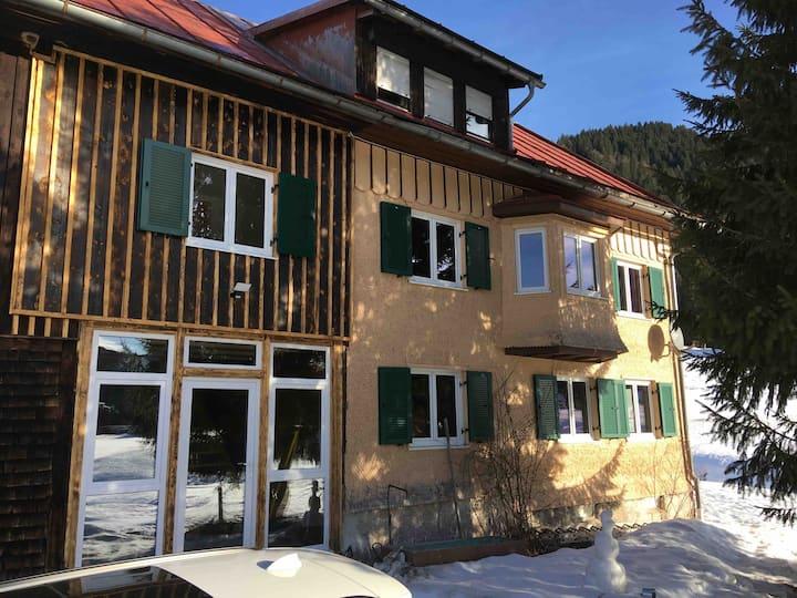 Ferienhof Wäldle 2 OG+DG an der Langlaufoipe