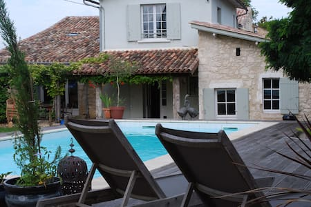 Beautiful Villa with Private Pool - Juillac