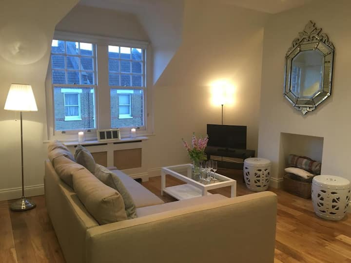Beautiful Room in a modern flat in Parsons Green!