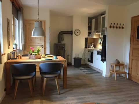 Seedorf: Idyllic holiday apartment in the yard