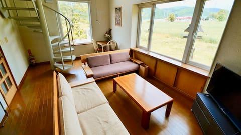 布屋 NUNOYA -magnificent view of Asahidake Biei-