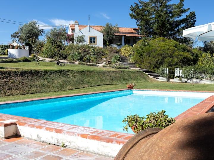 Casa campo com vista para a Barragem Montargil