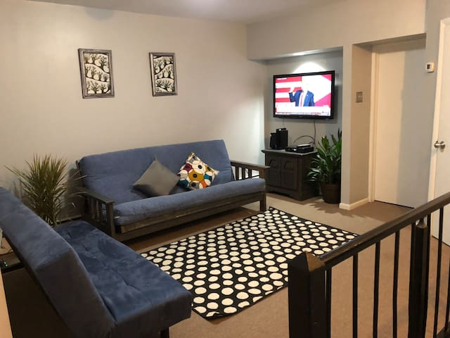Spacious & Bright Private Suite at East Falls