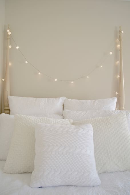 Cozy and comfortable bedding