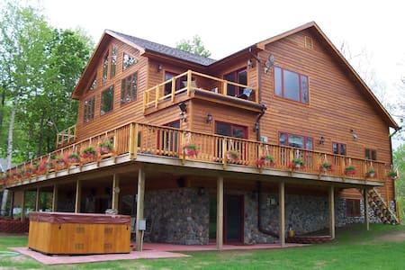 Adirondack Luxury House Chazy Lake - Ellenburg Depot
