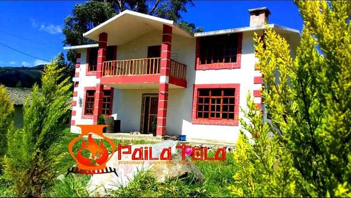 Paila Tola-hospedaje de convivencia-restaurante