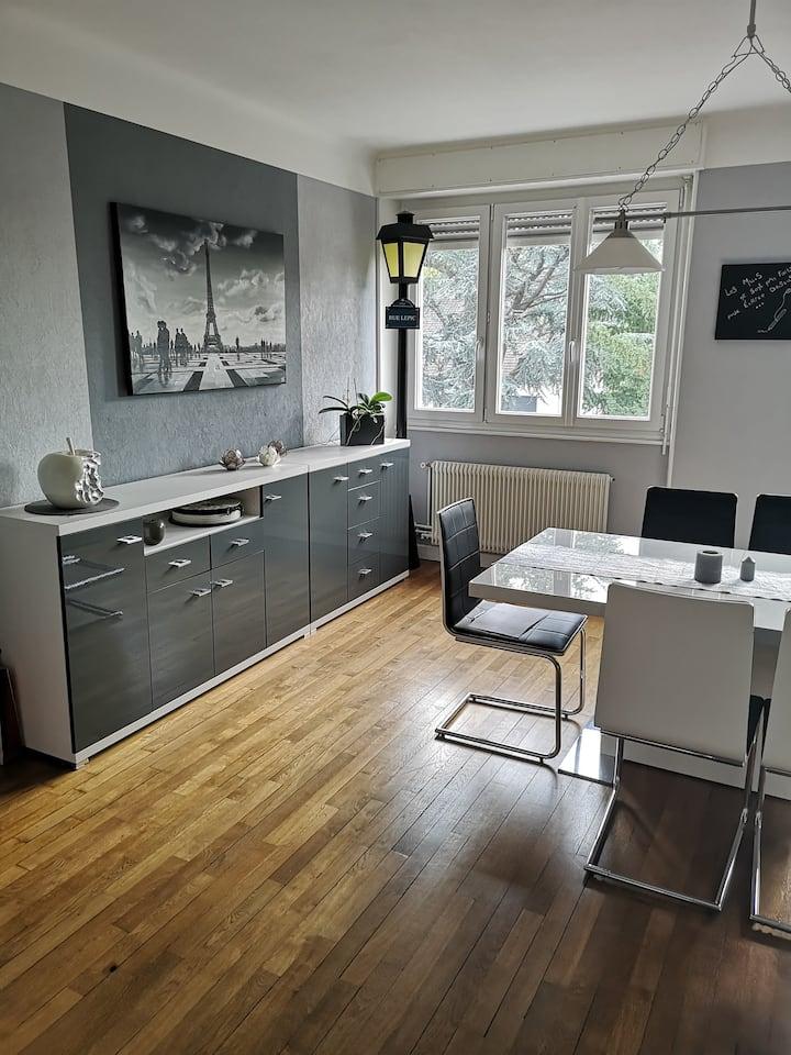 Saint dié des Vosges : appartement en ville