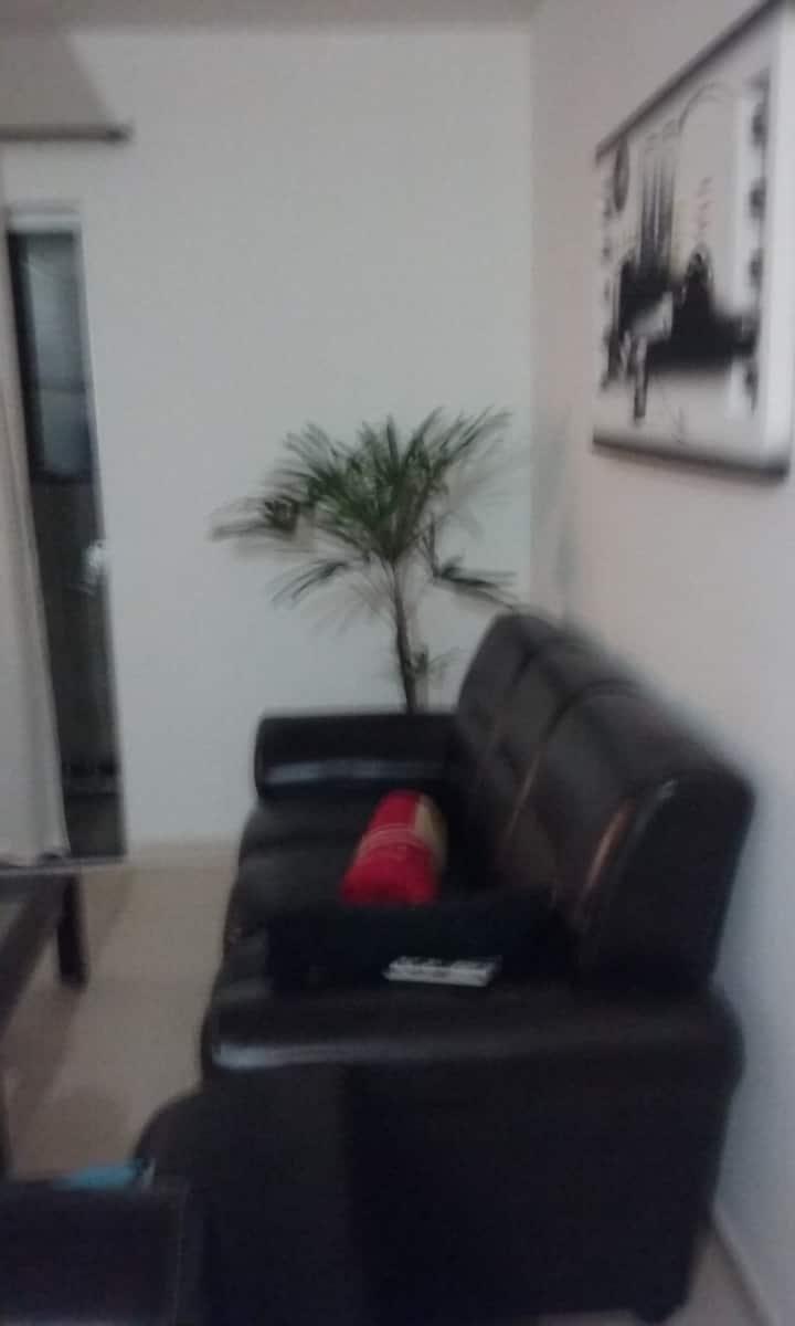 Apartamento padrão mobiliado para 2 pessoas