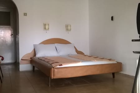 Double room suitable for  people with pets