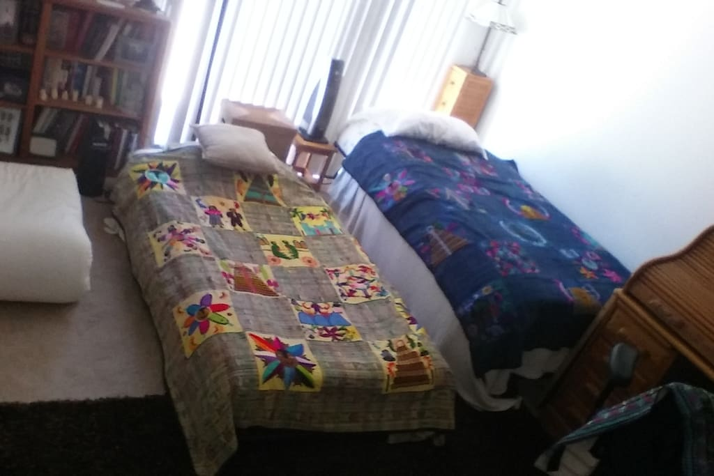Room can ne 3 Beds, and still has a lot more space left! Can Also be 2 Beds, King size plus one bed, or just King size!