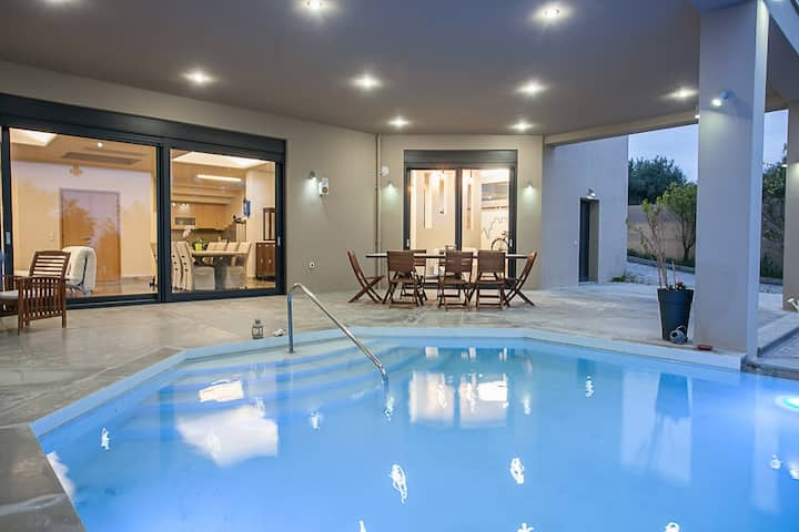 Olive dream Villa - Gazi Heraklion - Private Pool