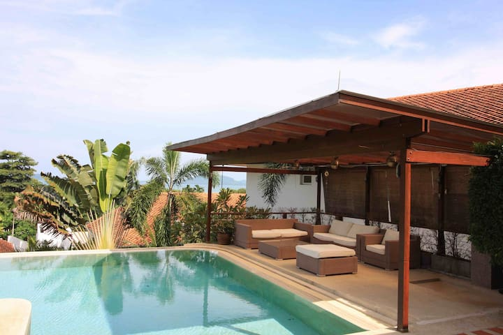 Double villa with private pool and sea view @ Yamu