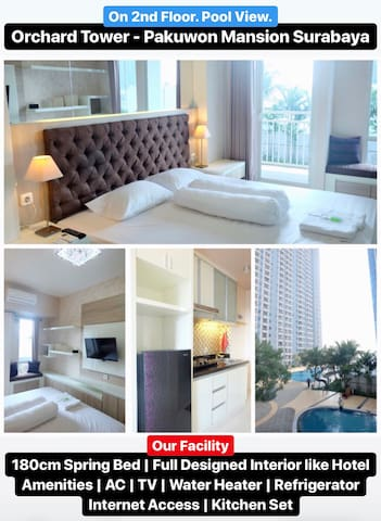Orchard Apartment with Full Facilities like Hotel