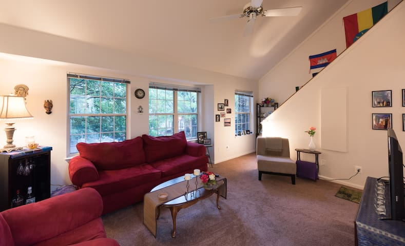 Charming Townhouse/Washington DC - Oakton - Adosado