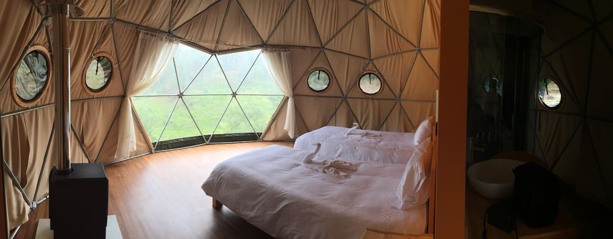Luxurious Double Dome at Soray Ecocamp (Meals Inc)
