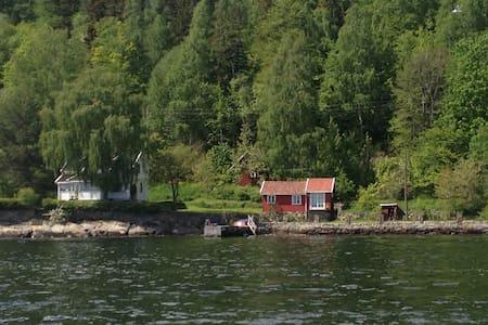House on the fjord - near Oslo