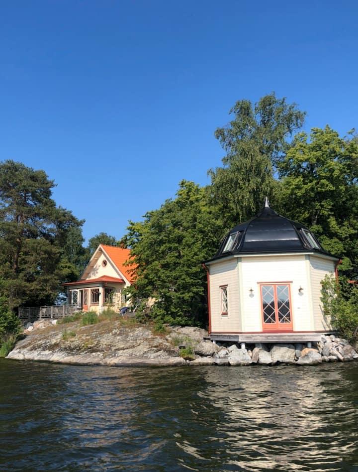 Hyr en privat ö i Mälaren!
