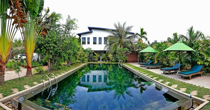 VILLA PLUMERIA  A08. -55 % for long term rental