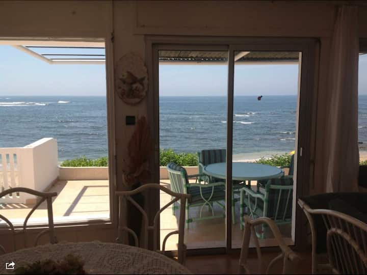 Ocean-Front Beach House Plage David