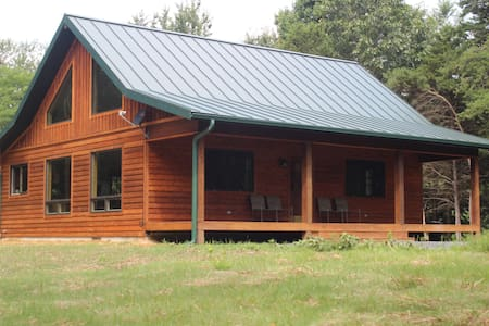 BRAND NEW Secluded Cabin, Handicap Access, Hot Tub - Srub
