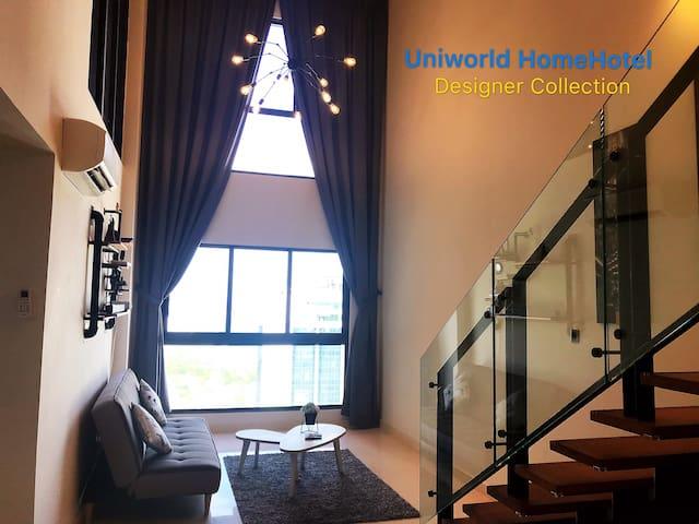 Stylish Duplex Loft @Vsummer CIQ/ R&F mall 1-8 pax