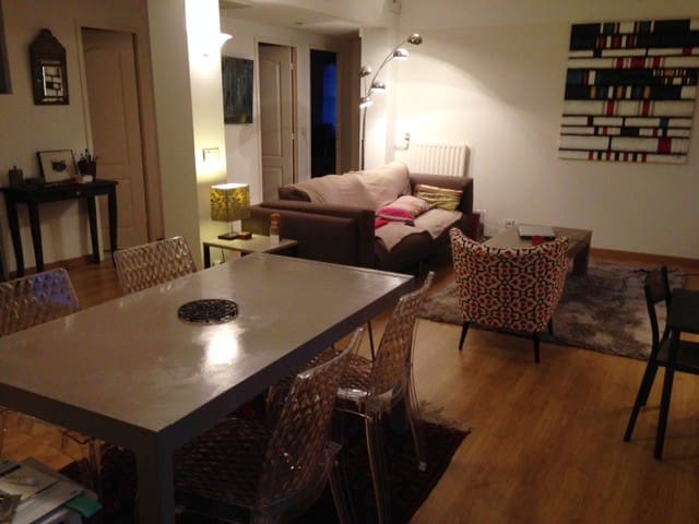 Appartement agréable et limitrophe de Biarritz.