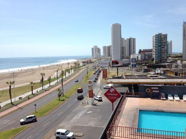 Acogedor departamento frente a la playa
