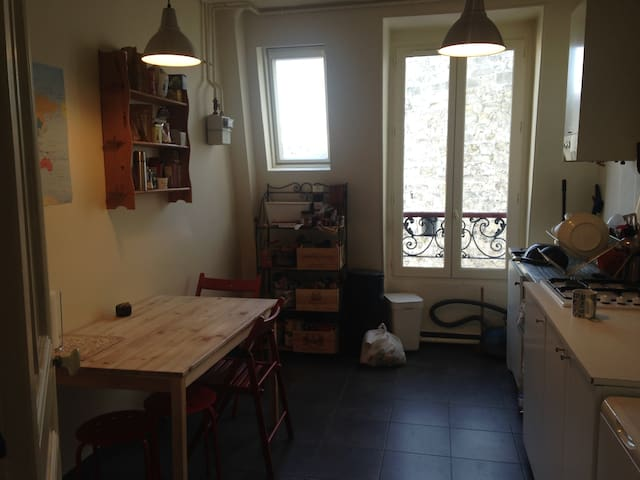 Appartement Parc Buttes Chaumont - Paris - Flat