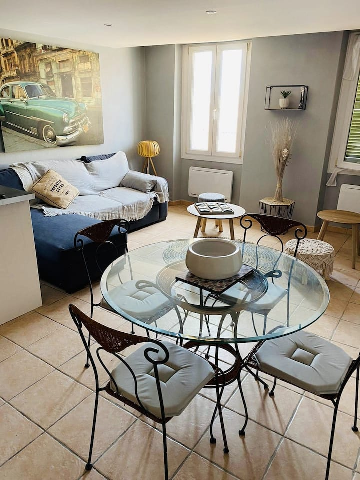 Bright apartment in Old Town - Antibes