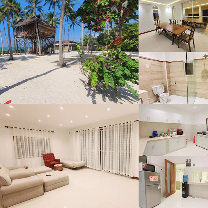 Oceanic Pearl,  Private 2 bdrm, Beachfront views.