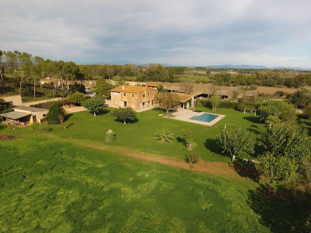 Masia Costa Brava, Pals - Fontanilles - Hus
