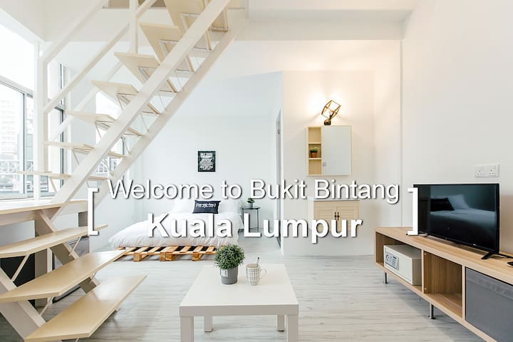 KS02 -Truly Bright & Stylist Room in Bukit Bintang