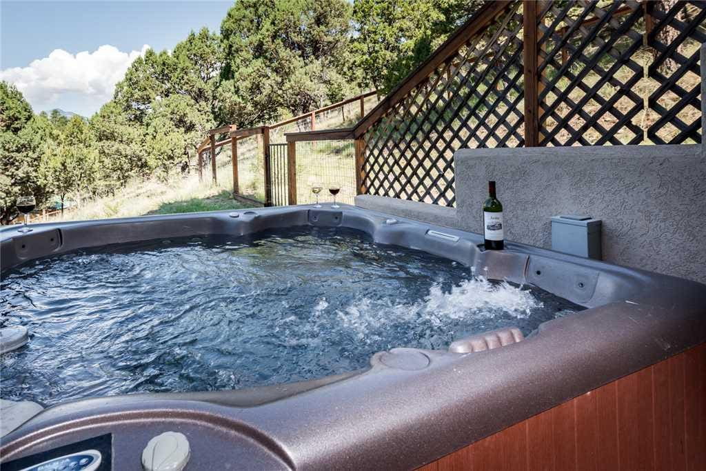 Retreat to the Hot Tub - End your day with a relaxing soak in Adobe Mountain Views' hot tub. The soothing jets will put you at ea