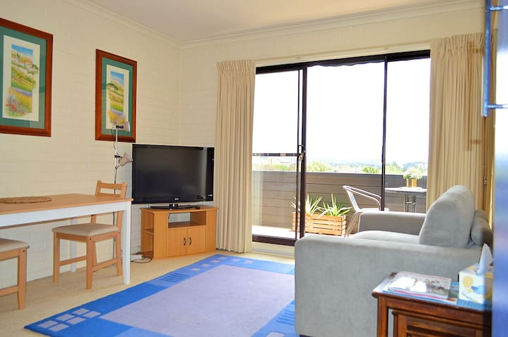 Fully self contained apartment - great views !