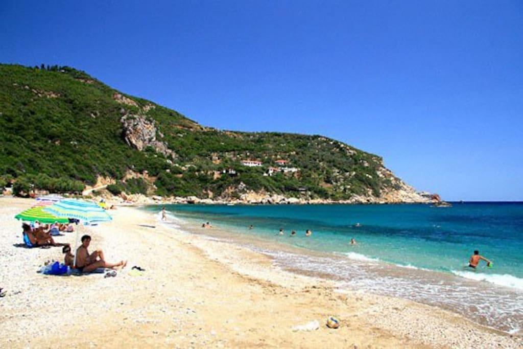 Paltsi Magnisia beach